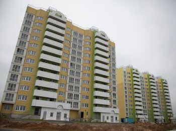 Панорама корпусов ЖК Янино-парк